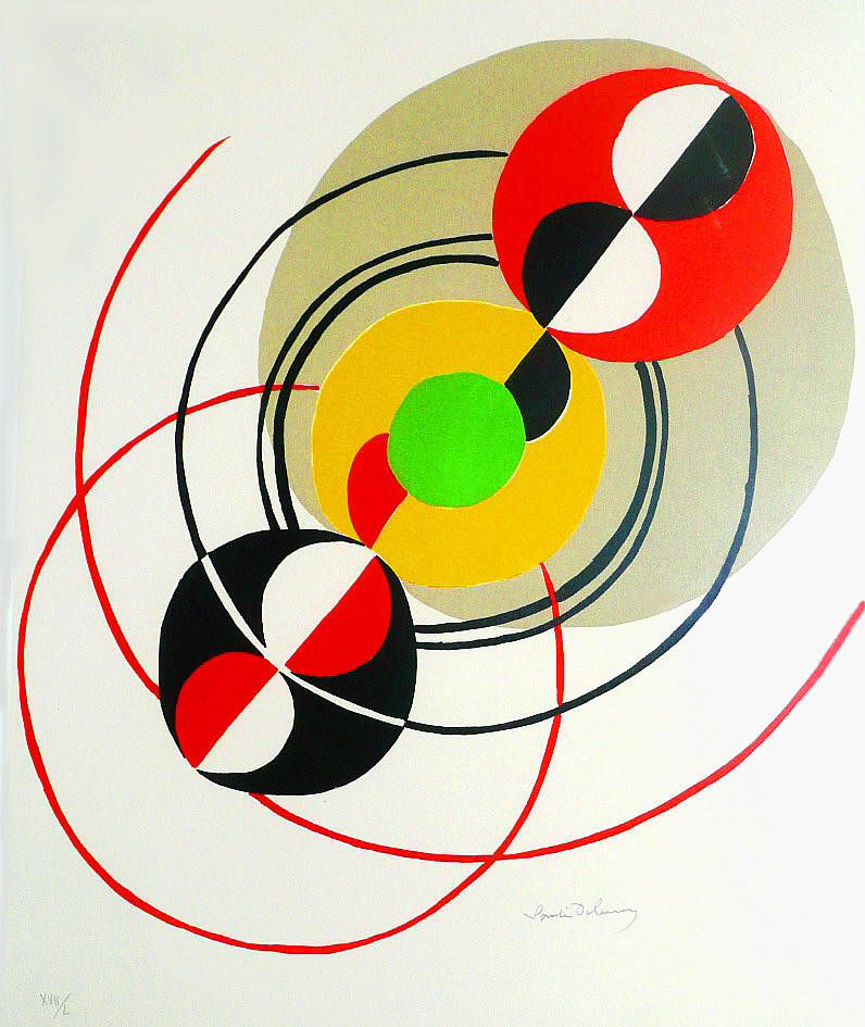 Sonia Delaunay on Pinterest | Joie De Vivre, Abstract and Textiles